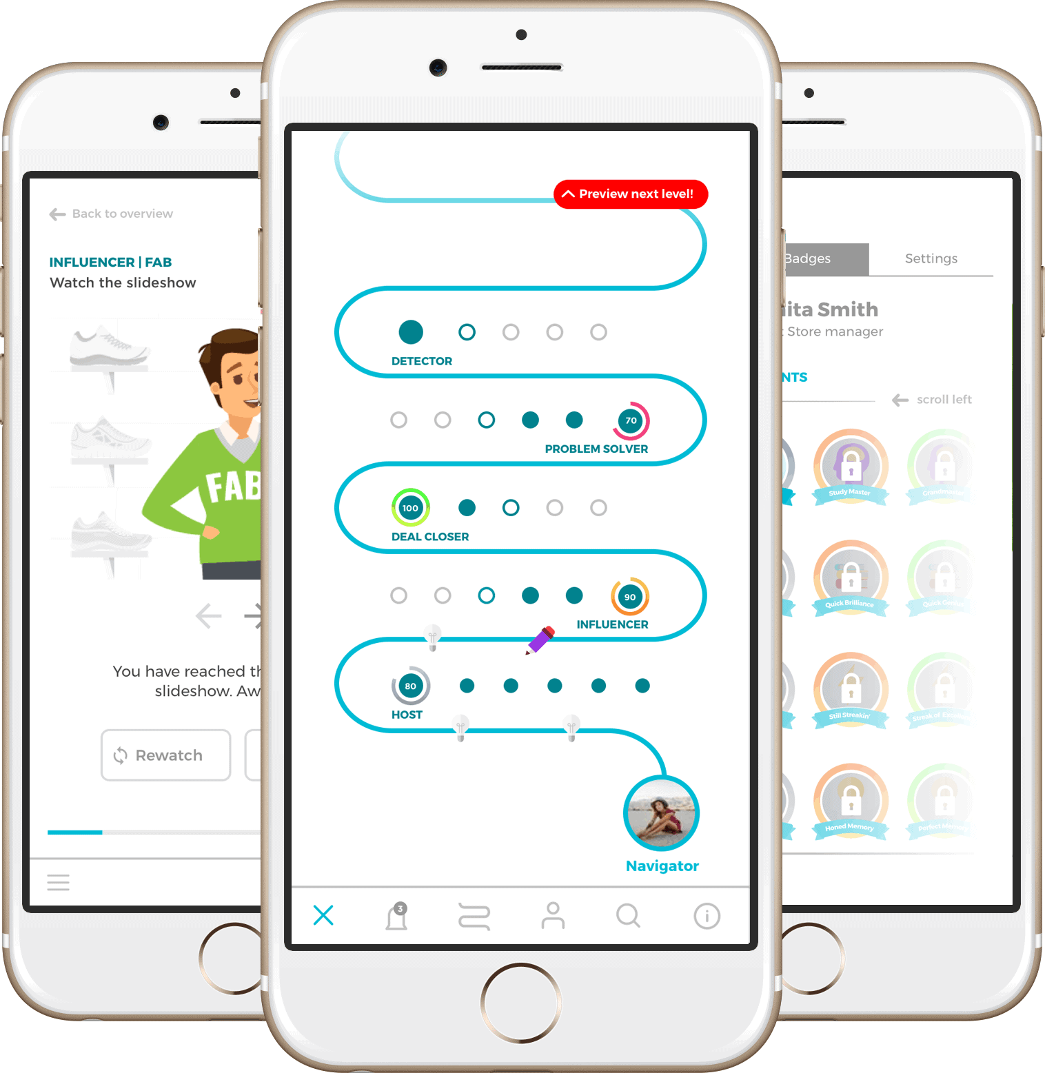 Mobile microlearning platform MobieTrain