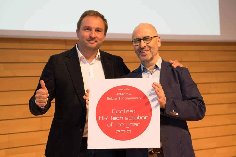 MobieTrain Winner Award Coolest HR Tech Solution 2019