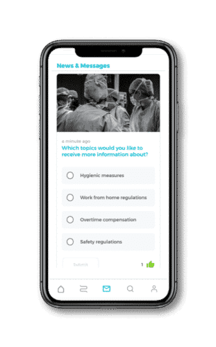 poll mobile learning app