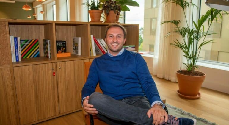 CEO and Founder MobieTrain Guy Van Neck