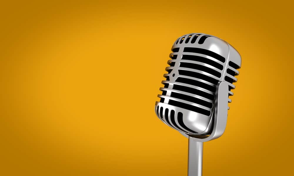 Microphone spaced repetition