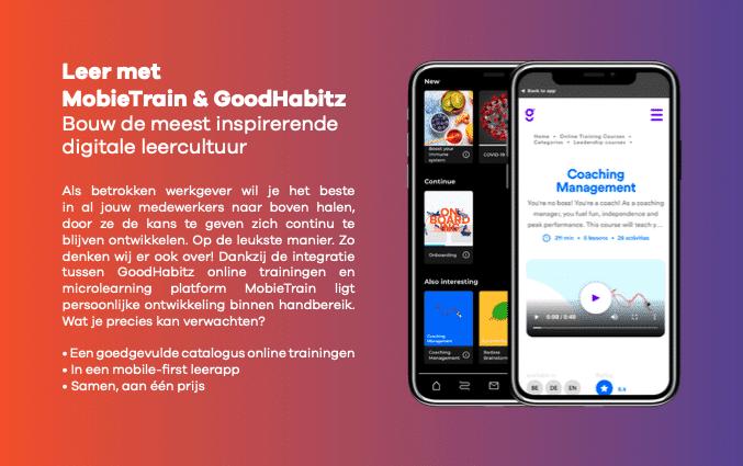 Leer succesvol met MobieTrain en GoodHabitz
