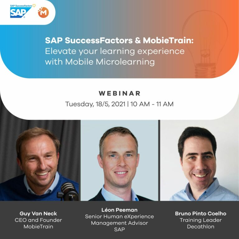 Webinar: Elevate your SAP learning experience with Mobile Microlearning